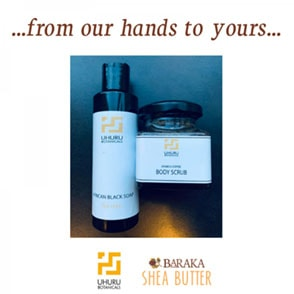 Featured … from our hands… Uhuru Botanicals