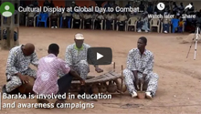 Cultural Display at Global Day to Combat Desertification, Wechiau, Ghana