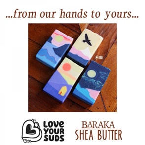 …from our hands to yours… Love Your Suds