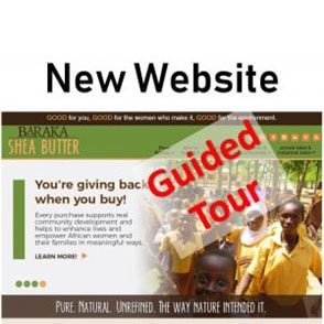 Guided Tour of the new Baraka Website