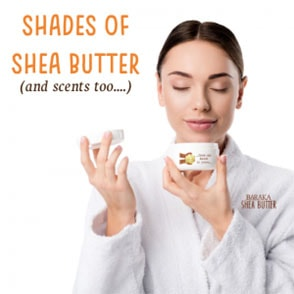 Shea Butter Smells (and colours)