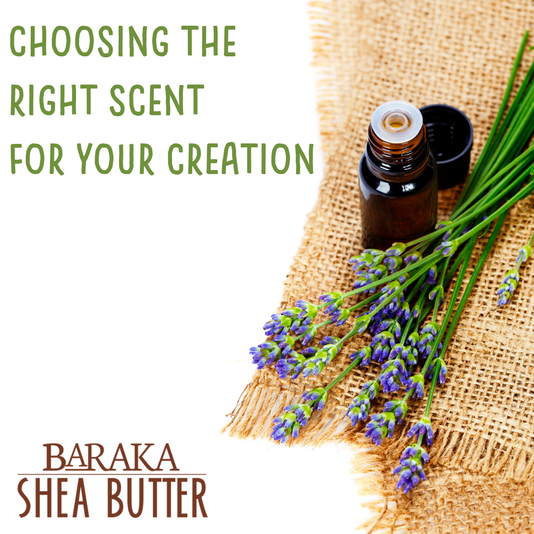 Choosing the Right Scent for Your Creation