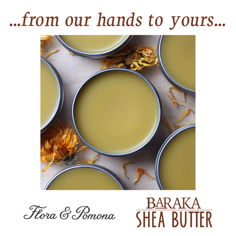 Featured … from our hands … Flora & Pomona