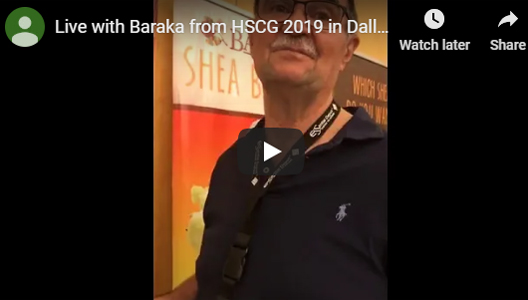Live with Baraka from HSCG 2019 in Dallas
