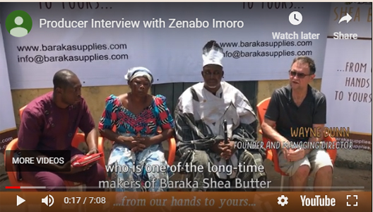 Producer Interview with Zenabo Imoro