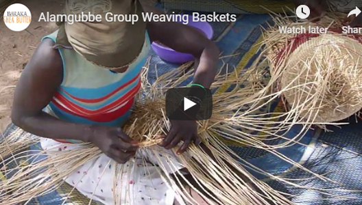 Alamgubbe Group Weaving Baskets