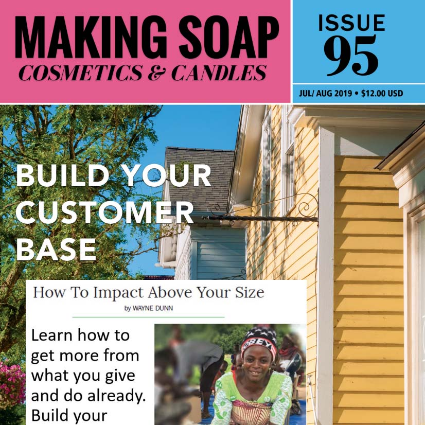 How To Impact Above Your Size – Making Soap Mag
