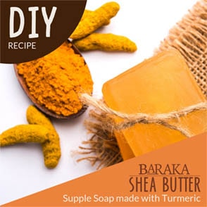 Supple Soap made with Turmeric