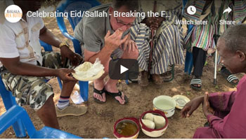 Celebrating Eid/Sallah – Breaking the Fast with Chief