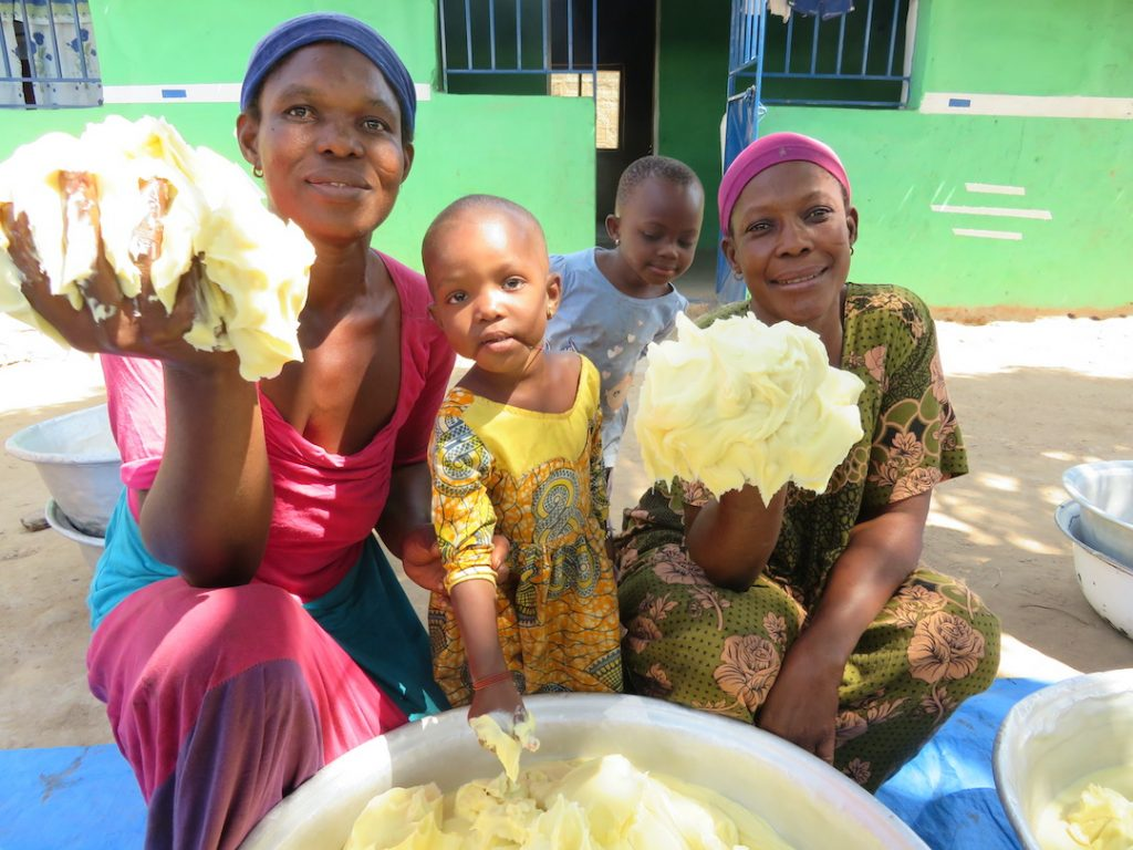 Quality shea butter has a natural, nice smell